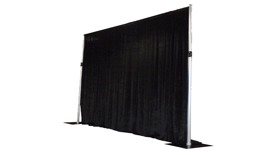 Catwalk Hire 6 with drapes